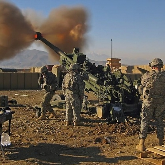 US Army Light Artillery