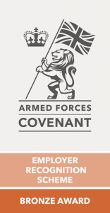 UK Armed Forces Covenant - Bronze Employer Recognition