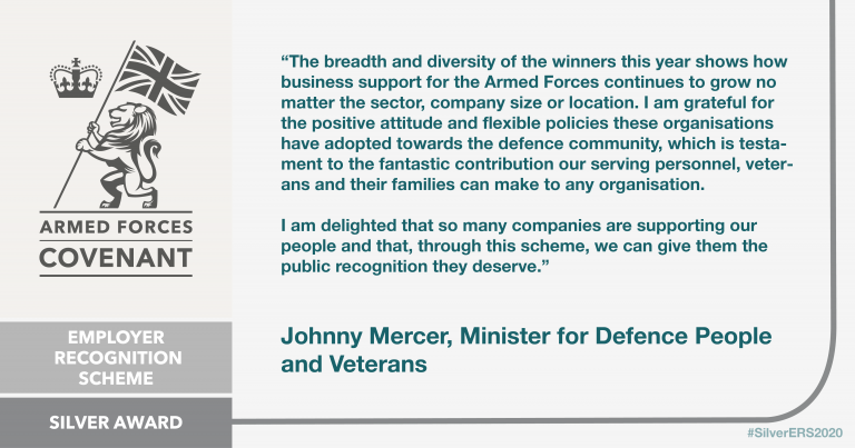 AFC Silver Ministerial Quote by Johnny Mercer MP